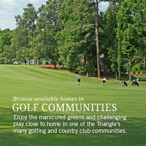 Browse available homes in golf, country club & tennis communities
