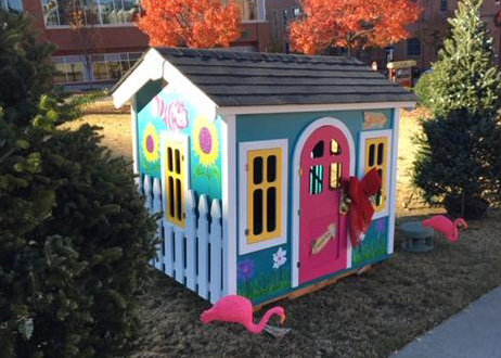PSCP's Alice in Wonderland inspired Playhouse to support Habitat for Humanity